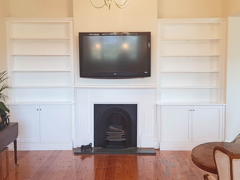 Built in Cabinet TV Unit 01